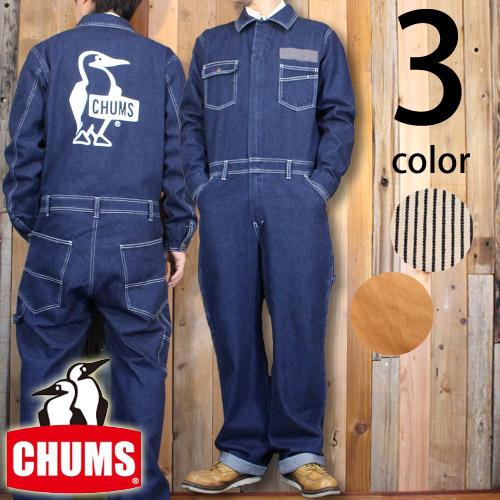 チャムス CHUMS ハリケーン カバーオール ブービー オールインワン オーバーオール CH04-1066