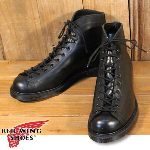 レッドウィング RED WING ラインマン ブーツ Lineman Boot ブラック リタン BLACK