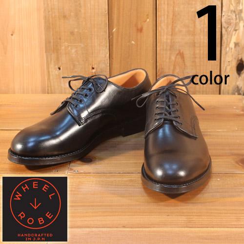 ウィールローブ WHEEL ROBE ホーウィン クロムエクセル プレーントゥ ブルッチャー 短靴 ブーツ レザーシューズ 15075