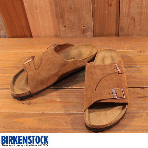 ビルケンシュトック BIRKENSTOCK チューリッヒ ZURICH brown 0050403