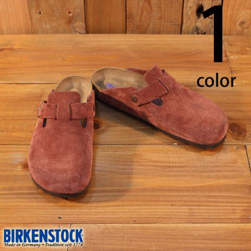 ビルケンシュトック BIRKENSTOCK ボストン BOSTON PORT スウェード ソフトフットベット 日本代理店別注モデル 1011298