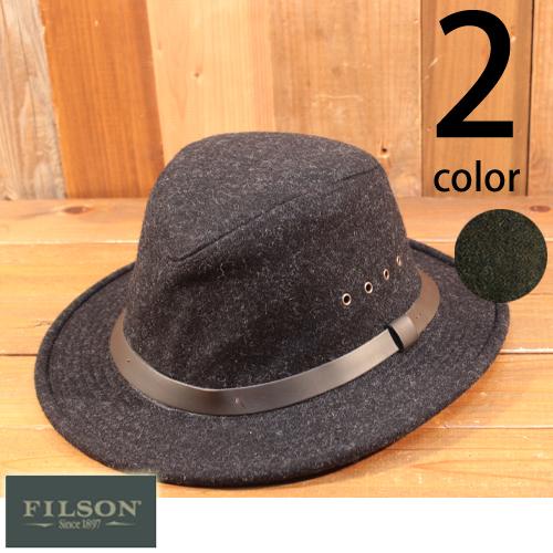 フィルソン FILSON ウール パッカー ハット 中折れ帽 フェドーラ 60025
