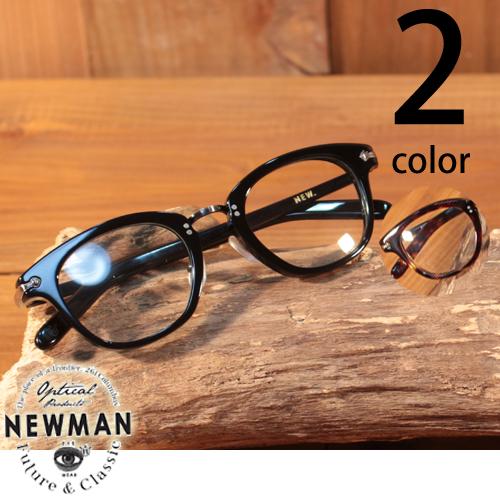 ニューマン NEWMAN BILL メガネ 眼鏡 伊達眼鏡 ユニセックス