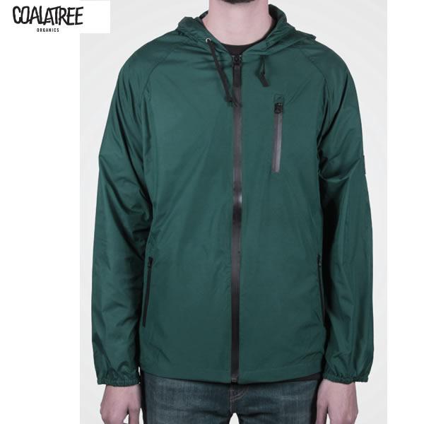 処分価格 コアラツリー COALATREE  PARK RAIDER ジャケット GREEN  DWR コーティング 防水シャツ ウィンドブレーカー【s0】
