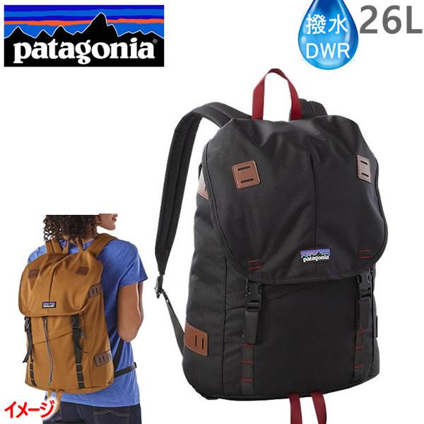 ●9月2日までポイント5倍●PATAGONIA パタゴニア リュック バッグ ARBOR Pack 26L ブラック BLACK アーバーパック  バックパック・リュックサック 日本正規品【s3】