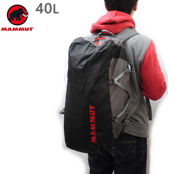マムート リュック MAMMUT CARGOLIGHT 40L /TITANIUM  背負えるダッフルバッグ 2510-03880 0051 マムート バッグ