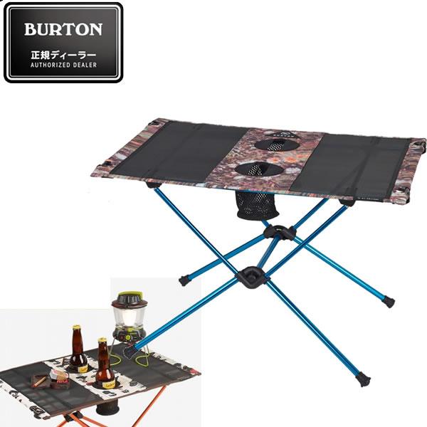 BURTON バートン キャンプテーブル CAMP TABLE ONE -DAY TRIPPER ヘリノックス ビッグアグネス コラボレーション 16705101264 折り畳みテーブル アウトドア【s4】