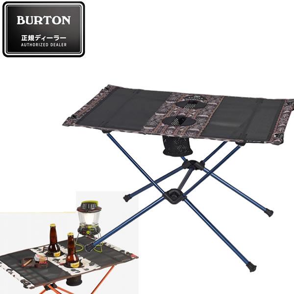 BURTON バートン キャンプテーブル CAMP TABLE ONE -GUATIKAT ヘリノックス ビッグアグネス コラボレーション 16705101265 折り畳みテーブル アウトドア【s5】