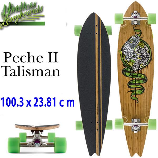 『5年保証』 ロングスケートボード 完成品 MINDLESS Peche 2 Talisman 39.5×9.375インチ ロンスケ スケートボード ロング デッキ クルージング コンプリート【L2】【代引不可】, 1st-priority 259abeea