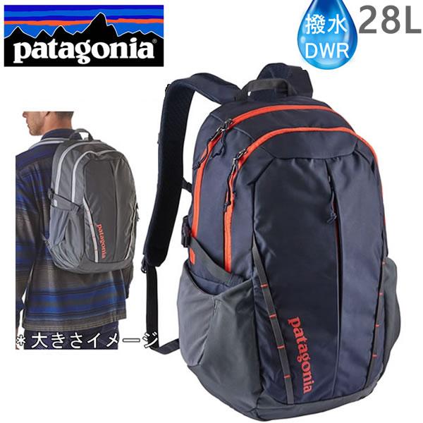 ●9月2日までポイント5倍●PATAGONIA パタゴニア リュック バッグ REFUGIO 28L 47912 スモルダーブルー SMDB レフュジオ  バックパック・リュックサック【s3】