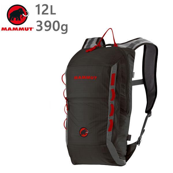 マムート リュック MAMMUT NEON LIGHT 12L /BLACK-SMOKE 0067 バックパック  2510-02490  マムート バッグ【s9】