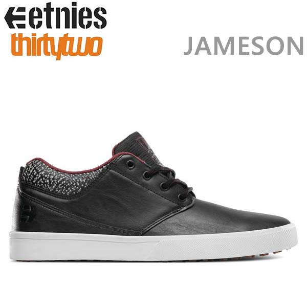 エトニーズ スニーカー JAMESON MTW X 32 JP WALKER / BLACK/GREY/RED etnies スニーカー エトニーズ シューズ【C1】【s7】