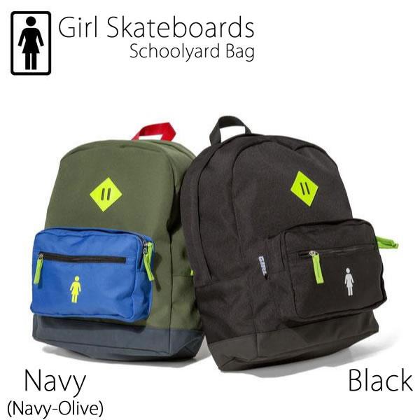 GIRL SKATEBOARDS リュック SCHOOLYARD BAG ガール スケボー スケートボード バッグ スケボー リュック【C1】【s2】