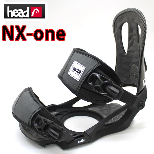 ヘッド HEAD スノーボードビンディング NX-ONE ブラック メンズ用バインディング  スノーボード・スノボー用品【s7】