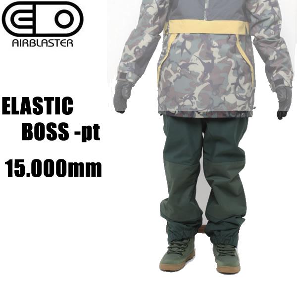 エアブラスター ウェア ジョガー パンツ 18-19  ELASTIC BOSS -pt / SYCAMORE エラスティックボス AIR blaster ウエア  スノーボード ウェア メンズ【C1】【s0】