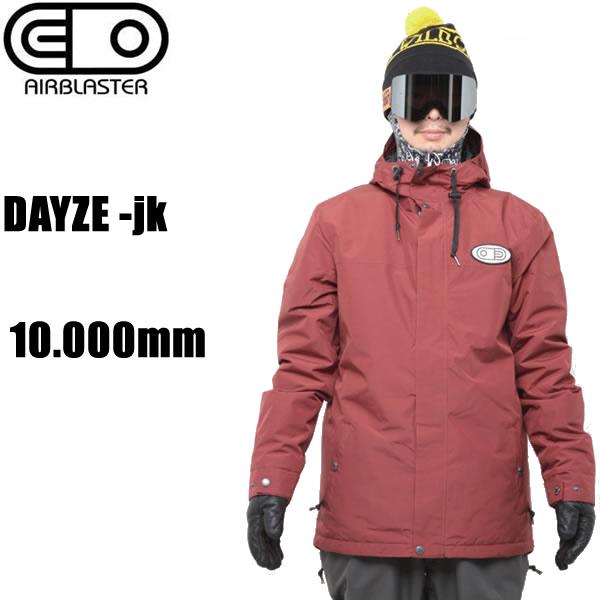 エアブラスター ウェア ジャケット 18-19 DAYZE -jk / OX BLOOD デイズジャケット フリーダムシリーズ AIR blaster ウエア  スノーボード ウェア メンズ【C1】【s5】