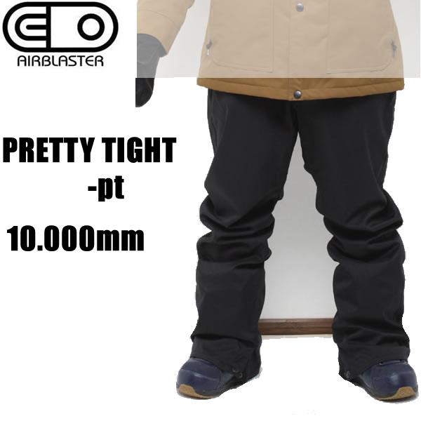 エアブラスター ウェア スリムパンツ 18-19  PRETTY TIGHT -pt / BLACK   フリーダムシリーズ AIR blaster ウエア  スノーボード ウェア メンズ【C1】【s9】