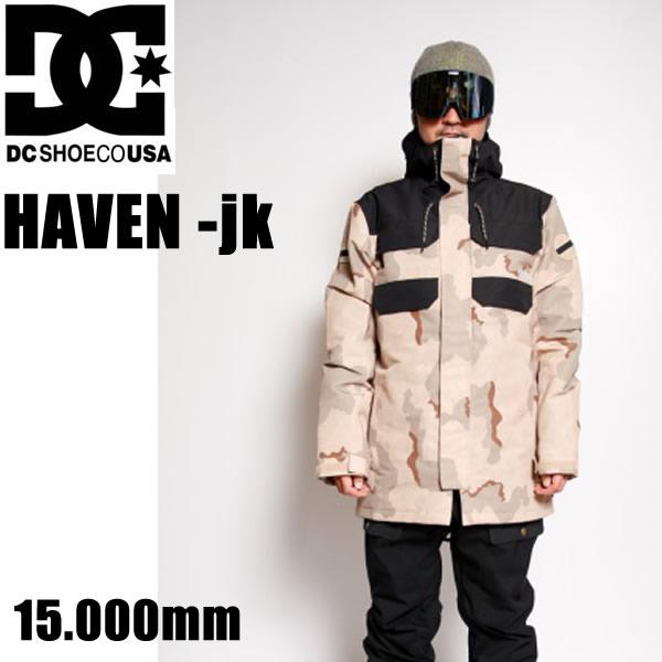 スノーボード ウェア DC メンズ ジャケット HAVEN -jk / CJZ6  / INCENSE DCU CAMO 03070 (2018-2019 18-19) DC SHOE ディーシーシュー【C1】【s9】
