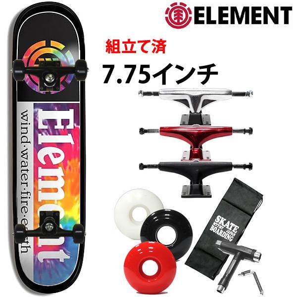 スケボー コンプリート エレメント ELEMENT TIE DYE SECTION 7.75X31.7インチ AI027-N02 スケートボード 完成品 【s2】