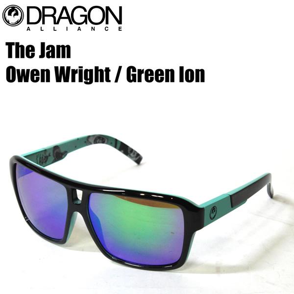 DRAGON ドラゴン サングラス メンズ The Jam Owen Wright / Green Ion オーウェンライト ジャム サングラス 日本正規品【s2】