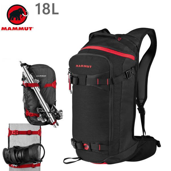 マムート リュック MAMMUT NIRVANA FLIP 18L /BLACK バックパック  2510-03270  0001 マムート バッグ【s2】