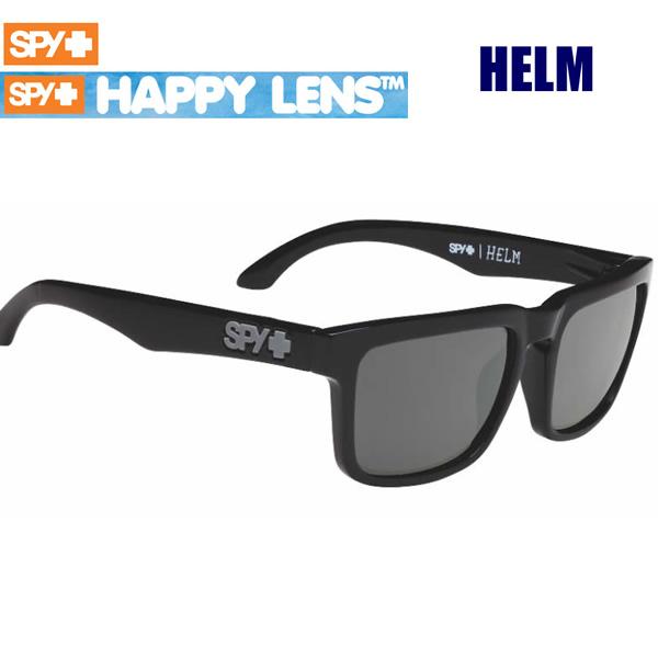 サングラス spy SH【s2】 送料無料 HELM  ・ハッピーグレーグリーン HAPPYレンズ グロスブラック ヘルム スパイ