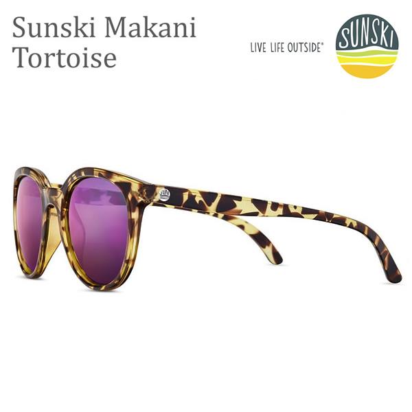 サンスキー サングラス Makanis Tortoise Purple-Polarized SUN-MK-TOP sunski サングラス 偏光サングラス 【コンパクト便可能】【K1】【s0】