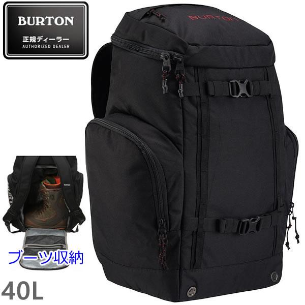 バートン バックパック 18-19FW BOOTER PACK 40L True Black 11036104002 ブーツ収納可能 ブーターパック バートン リュック burton リュック 【C1】【s5】