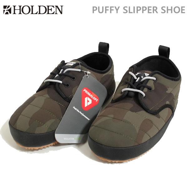 ホールデン HOLDEN PUFFY SLIPPER SHOE/カモ(18-19 2019)シューズ・靴【C1】【s0】