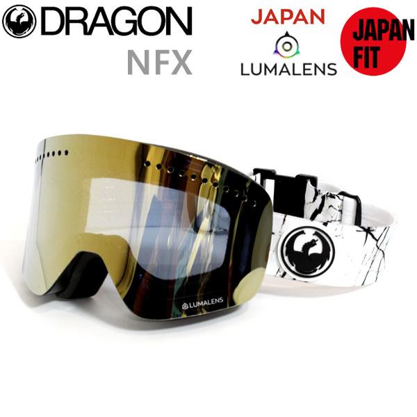 スノーボード ゴーグル ドラゴン NFX JOSSI WELLS(008) /LUMALENS J.GOLD ION(18-19 2019)ジャパンフィット dragon ゴーグル【C1】【s5】