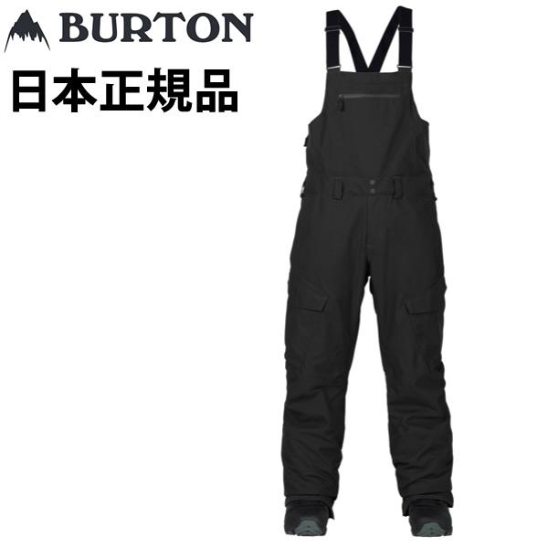 バートン 18-19 ウェア ビブパンツ RESERVE BIB-pt / TRUE BLACK  BURTON【スノーボード・ウエア・スノボー用品】【C1】【s9】