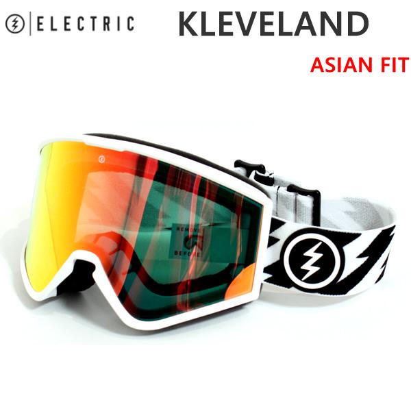 エレクトリック ゴーグル KLEVELAND ELECTRIC/VOLT WHITE/GREY RED CHROME(18-19 2019)スノーボード ゴーグル【C1】【s9】