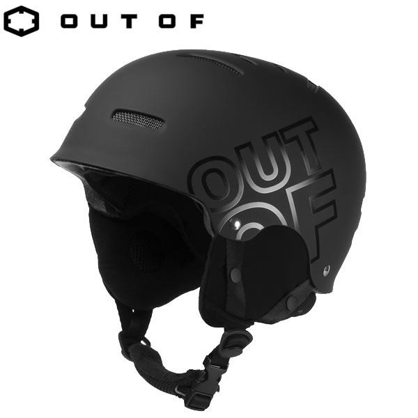 アウトオブ ヘルメット WIPEOUT BLACK HELMET OUT OF スノーボード スキー ヘルメット【C1】【s2】