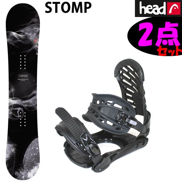 スノーボード 2点セット HEAD ヘッドスノーボード 板 STOMP FLOCKA ストンプ + ZM3800 ビンディング 【スノボー 2点セット】【L2】【s2】