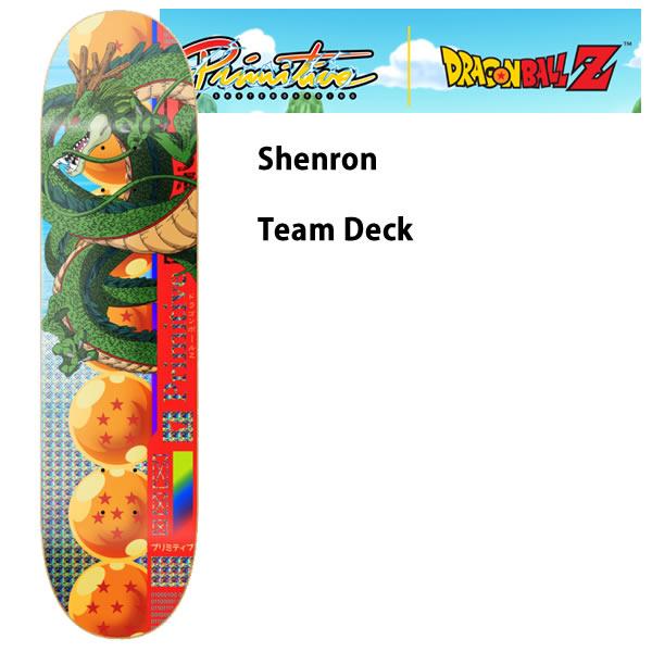 限定 PRIMITIVE x DRAGON BALL Z  スケボー デッキ単品 SHENRON 神龍 7.8インチ ドラゴンボール ●デッキテープサービス スケートボード【s2】