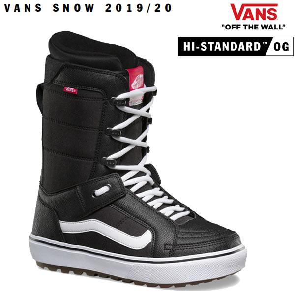 VANS スノーボード ブーツ HI-STANDARD OG ハイスタンダードOG/BLACK/WHITE(19-20 2020)バンズ スノーボード ブーツ【s9】
