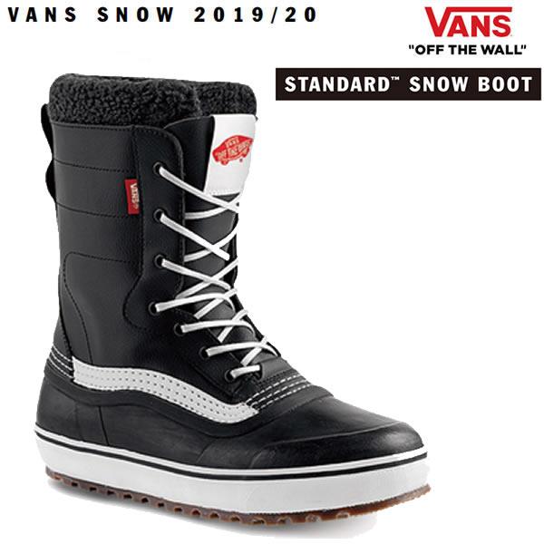 バンズ スノーブーツ スタンダード ブラック ホワイト VANS SNOW BOOTS STANDARD MTE 防水 防寒 防滑 ヴァンズ ウィンターブーツ【s2】