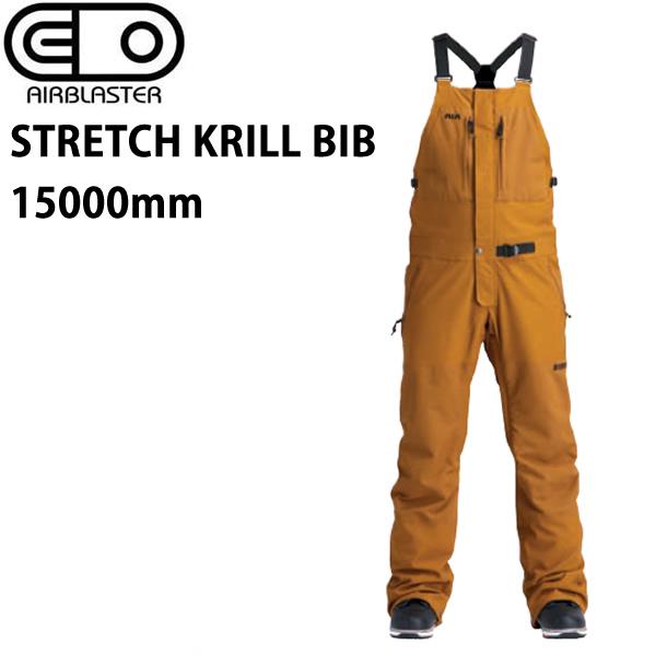 エアブラスター ウェア 19-20 STRETCH KRILL BIB -pants / GRIZZLY ビブパンツ (2019-2020) AIR blaster ウエア  スノーボード ウェア メンズ【C1】【s2】
