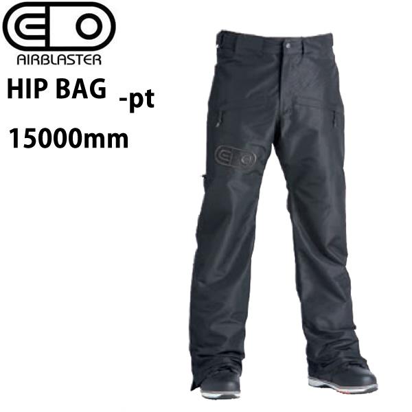 処分価格!!エアブラスター ウェア 19-20 HIPBAG -pants / BLACK パンツ (2019-2020) AIR blaster ウエア  スノーボード ウェア メンズ【C1】【s2】