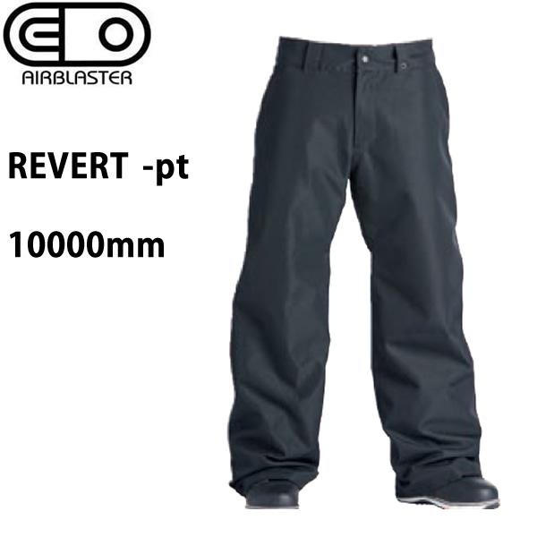 処分価格!!エアブラスター ウェア 19-20 REVERT -pants / BLACK パンツ (2019-2020) AIR blaster ウエア  スノーボード ウェア メンズ【C1】【s2】