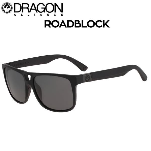 DRAGON ドラゴン サングラス ROADBLOCK ロードブロック  MATTE BLACK - GREY サングラス  【C1】【s1】