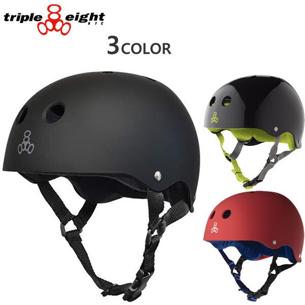 トリプルエイト ヘルメット TRIPLE EIGHT SWEATSAVER Triple8 自転車・インライン・スケートボード ヘルメット【C1】【s7】