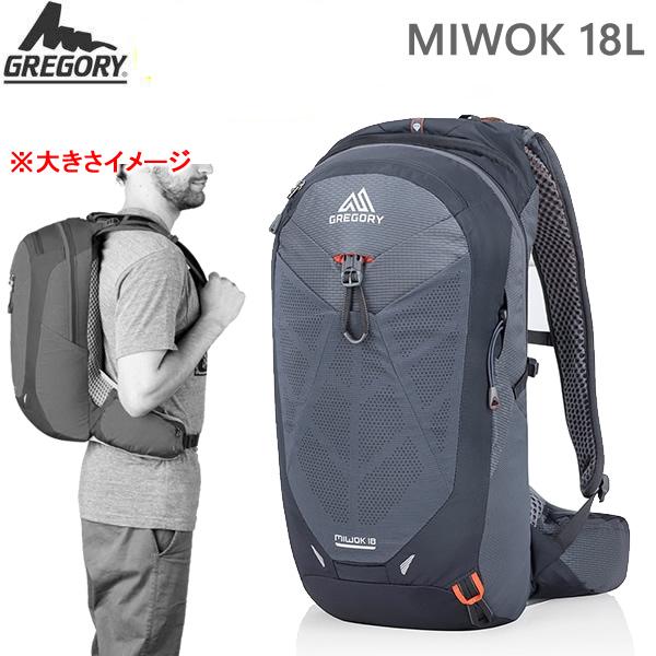 グレゴリー リュック デイパック MIWOK 18 ミウォック 18L/フレームブラック(1114807409)GREGORY リュック 【C1】【s2】