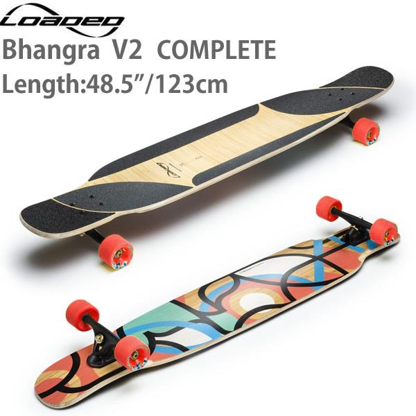 ポイント5倍 ロングスケートボード ローデッド バングラ Bhangra V2 コンプリート ロンスケ スケボー loaded SKATE boards【L1】【s2】