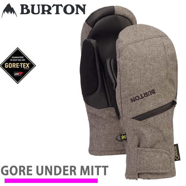 スノーボード レディース ミトングローブ ゴアテックス バートン BURTON  GORETEX Under Mitten / BOG HEATHER WOMENS (19-20 2020)スノーボード グローブ【C1】【s2】