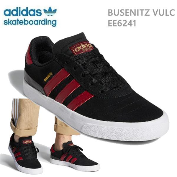 おまけ付き●アディダス スケートシューズ オリジナルス ブゼニッツ BUSENITZ VULC/コアブラック(EE6241) adidas skateboarding【C1】【s2】