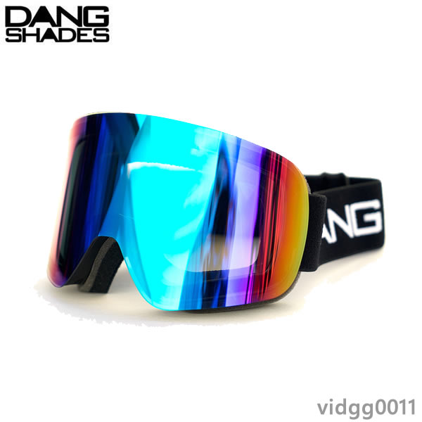 ダンシェイディーズ ゴーグル DANG SNOW TWENTY20 Black x Xtreme Green Mirror vidgg0011 dang shades スノーボードゴーグル 19-20【C1】【s0】