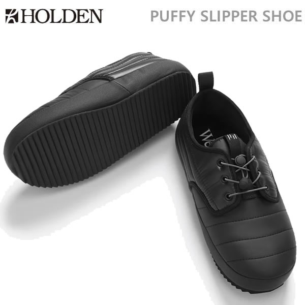 ホールデン HOLDEN PUFFY SLIPPER SHOE/ブラック(19-20 2020)シューズ・靴【C1】