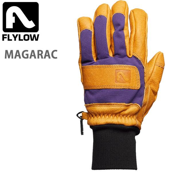FLYLOW フライロウ グローブ MAGARAC Gloves 5本指 ナチュラル/アストロ レザー スノーボード スキー グローブ 手袋【C1】【s7】