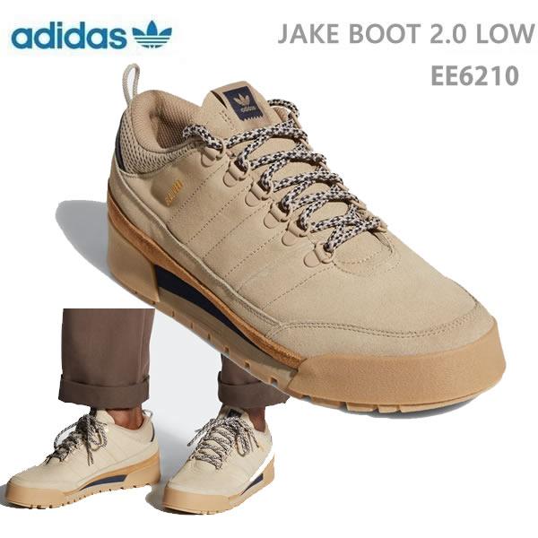 おまけ付き●アディダス シューズ オリジナルス JAKE BOOT 2.0 LOW /カーキ khaki ローブーツ (EE6210) adidas【C1】【s2】